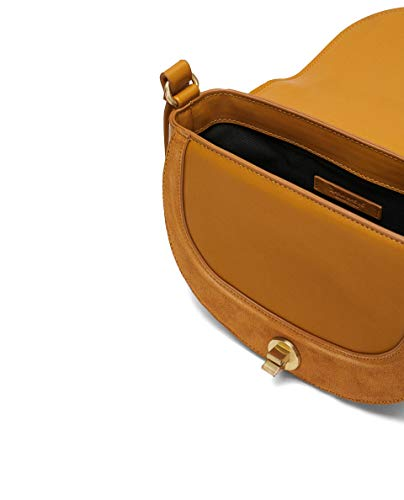 cuir Sac 6320 Femme bandoulière de 304 rabat Zara avec en croûte wTZW88q5z