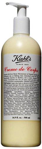 Kiehl's Creme de Corps Body Moisturizer - Full Size Pump 16.9oz (500ml)