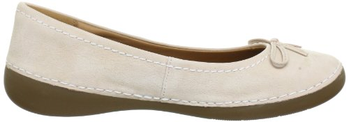Beige Fashion Ballerine donna Nude Icon Beige 20353758 Clarks Leather OaYSqd