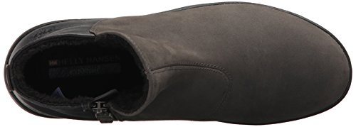Hansen Black Women's Arabella Pewter Black Snow Helly Boot Gum qxgRdOYww