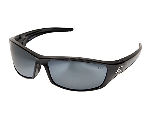 - Edge Eyewear SR117 Reclus Safety Glasses, Black with Silver Mirror Lens