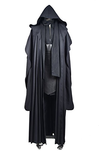 (Cosdaddy® Star Wars Darth Maul Tunic Robe Uniform Cosplay Costume Linen Version)
