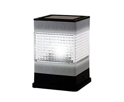 Ultra Bright Stainless Steel Fence Post Solar Light