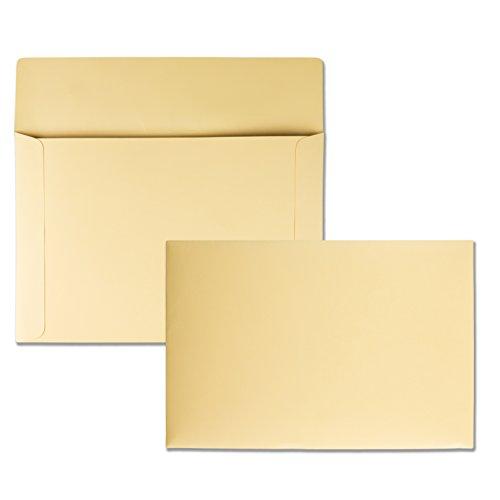 Quality Park, Filing Envelopes, Ungummed, Cameo Buff, 10x14.75, 100 per Box (89606)