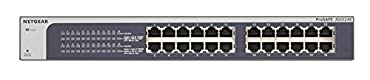 Netgear ProSAFE JGS524E Gigabit Ethernet Switch (Web Managed (Plus) , 24-port)