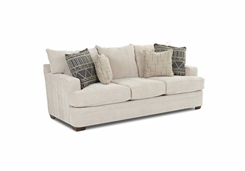 Klaussner Chadwick Sofa, Linen - Klaussner Home Furniture
