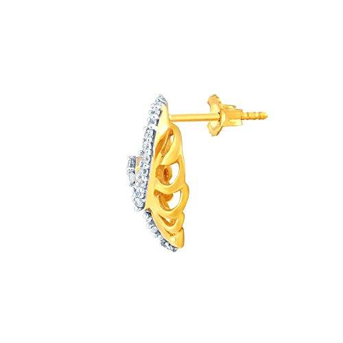 Giantti Diamant Mode Femme Boucles d'oreilles à tige (0.192CT, VS Clarté, Gh-colour)