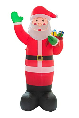 Things For Everyone 1011 7.9 Ft Inflatable Santa Claus Holiday Garden Mall Decoration Xmas Yard Decors -