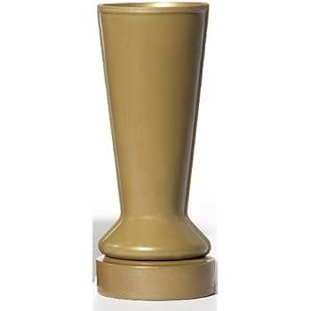 Amazon.com: Granite Memorial Vase w/ Design Tapered (5