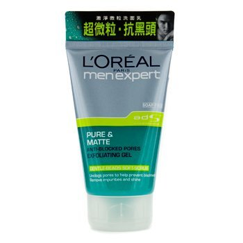 Men Expert Pure Matte Exfoliating Gel by L'Oreal #20