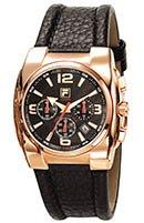 Fila Herren-Armbanduhr Analog Quarz Leder 600725