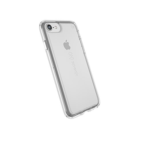 Speck Products Gemshell Cell Phone Case for iPhone 8 (Also fits 7/6S/6) - Clear/Clear - 103162-5085 ()