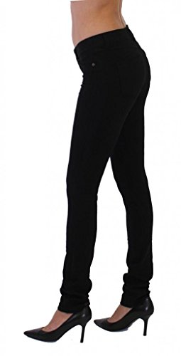 Dinamit Jeans Skinny Fit French Terry Brazilian Pants Black S
