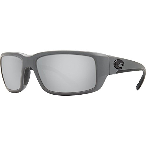 Costa Del Mar Fantail 580G Fantail, Matte Gray Silver Mirror, Silver ()