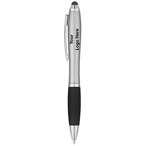 Satin Stylus Pen - 250 Quantity - $0.85 Each - PROMOTIONAL PRODUCT / BULK / BRANDED with YOUR LOGO / CUSTOMIZED by Sunrise Identity