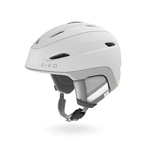 848abedacf26 Giro Strata MIPS Womens Snow Helmet Matte White MD 55.5–59cm