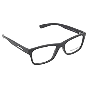 Dolce & Gabbana Men's DG5005 Eyeglasses Matte Black 54mm