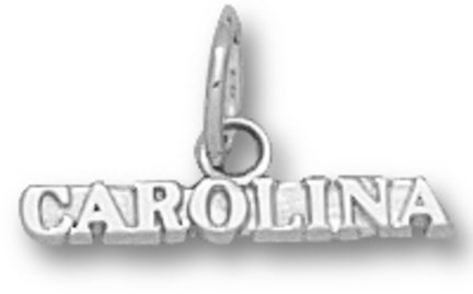 (University of North Carolina Pendant- Sterling Silver)