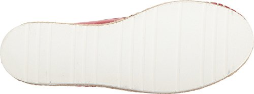 Love Moschino Women's Espadrille w/Studded Detail Red 37 M EU by Love Moschino (Image #2)