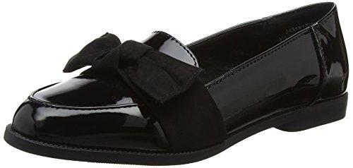 New Look WoMen Loot Closed Toe Ballet Flats Black (Black 1)
