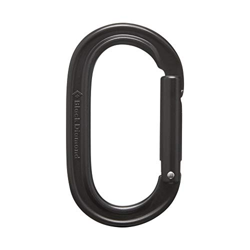 Black Diamond Oval Carabiner - Black (Carabiner Black Diamond Oval)