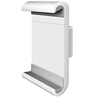 """Barkan 7"""" - 12"""" 360 Degrees Rotation Tablet Wall Mount, Fixed Position, Up to 3lbs, Color White, 5 Year Warranty (B000WVXX2E)   Amazon Products"""