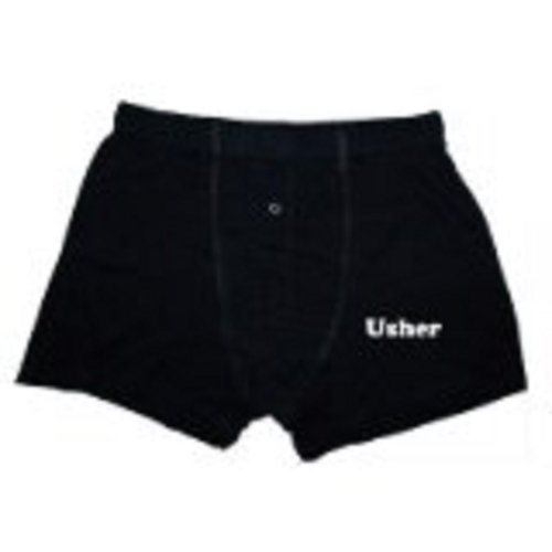 Wedding Usher boxer shorts –�?9,1 - 106,7 cm (XL) (XWBS03 x L)