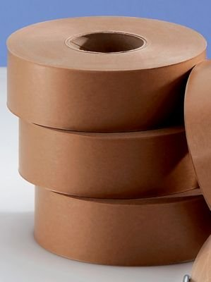 Nassklebeband - Ausführung einfach, Bandlänge 200 m, VE 12 Rollen - Klebebänder Verpackungsgeräte und Verpackungsmittel Nassklebebänder Packbänder Klebebänder Verpackungsgeräte und Verpackungsmittel Nassklebebänder Packbänder Klebebänder Verpackungsgeräte