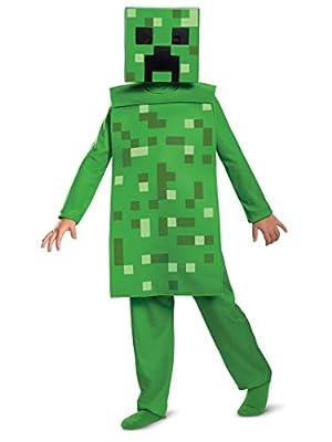 Minecraft Creeper Jumpsuit Classic Child Costume