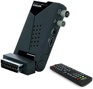 sedea Mini Receptor TNT HD Caja terrestre TV y Radio Multimedia Compact: Amazon.es: Electrónica