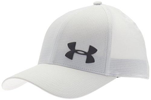 Under Armour Men's ArmourVent Training Cap, White (102)/Graphite, Small/Medium
