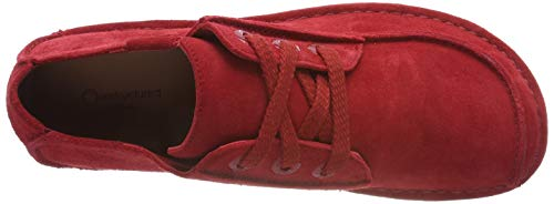 Rosso Stringate Funny Suede Donna Red Scarpe Dream Clarks qzaHx