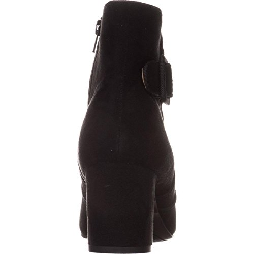 10 US Mountain Black Ankle Booties Calisi White X6YFwqzw