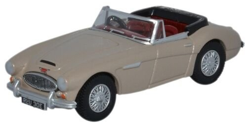 (Oxford Diecast 76ah3005 Austin Healey 3000 Metallic Goldin)