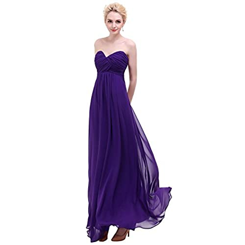 Dark Purple Bridesmaid Dresses: Amazon.com