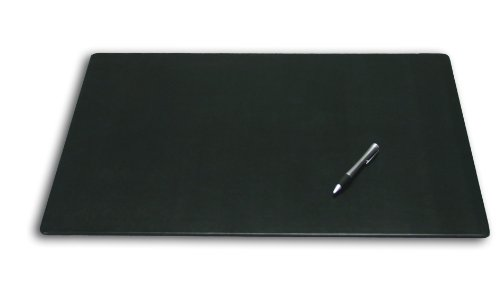 Dacasso Leatherette Conference Table Pad, 20 by 16-Inch, Black by Dacasso