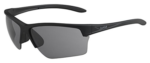 Bolle Flash Polarized Tns Oleo AF, Matte Black (Bolle Polarized Sunglasses)