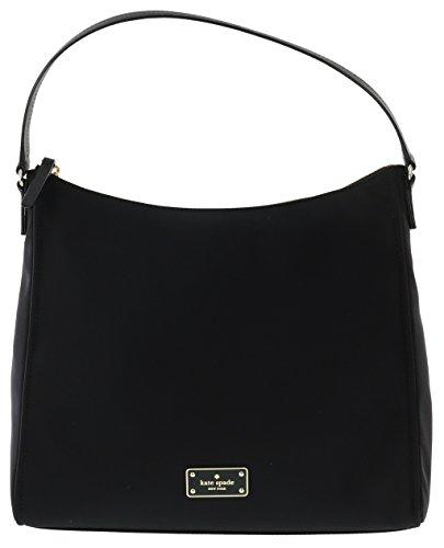 Kate Spade New York Blake Avenue Justyne Nylon Handbag Purse (Black) by Kate Spade New York
