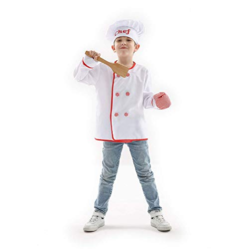 Wooden Spoon Costumes - Honey Box Chef Costume Role Play