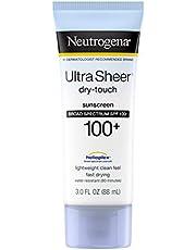 Neutrogena Ultra Sheer Dry-Touch Sunscreen Broad Spectrum SPF 100, 3 Fluid Ounce