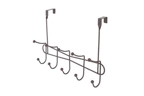 Inspired Living by Mesa utility-hooks, 10 Elegant, BRONZE