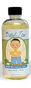 Tearless Shampoo 12 Ounce - Baby Zen Green Tea Shampoo & Body Wash (Tearless)