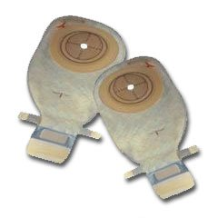 Coloplast® Convex Light, Standard Wear, easiCloseTM Wide Outlet Pouch w/Belt Loops