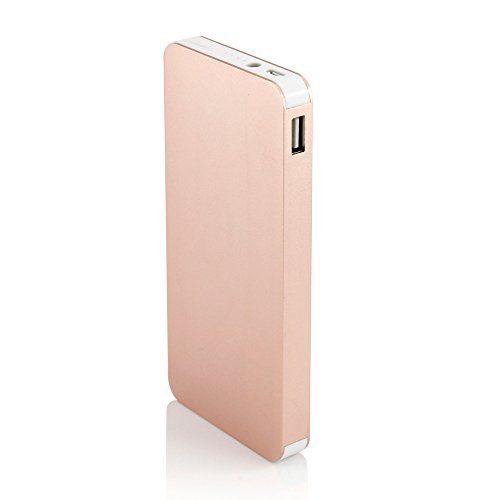 Gearonic 10000mAh Ultra Thin Power Bank - Gold
