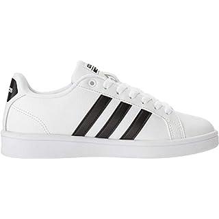 adidas Women's Shoes | Cloudfoam Advantage Cl Sneakers, White/Black/White, (9 M US)