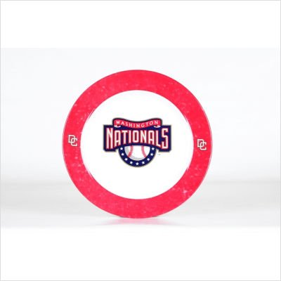 - MLB Washington Nationals Dinner Plates (Set Of 4)