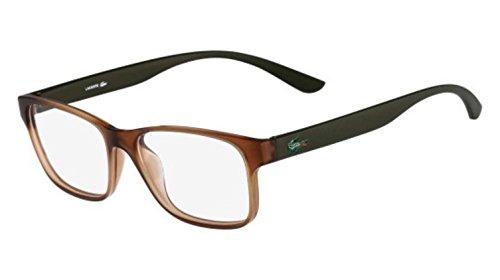 - Eyeglasses LACOSTE L 3804 B 210 BROWN MATTE
