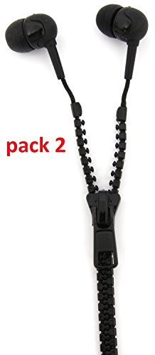 thumbsup-pack-of-2-noise-isolating-limited-edition-novelty-in-ear-anti-tangle-zip-earphones-with-exc