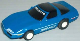 TYCO HO Scale 440x2 1983 Corvette ZR1 Slot Car (15047B) from Tyco