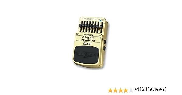Behringer EQ700 - Ecualizador para guitarra: Amazon.es ...